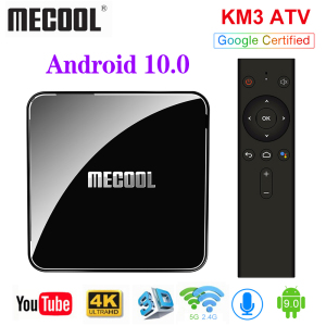 Image 3 - Mecool Androidtv 10.0 KM3 ATV Box Google Certified S905X2 4K Media Player 2.4G/5G WiFi KM9 Pro Android 9.0 Smart Set Top Box