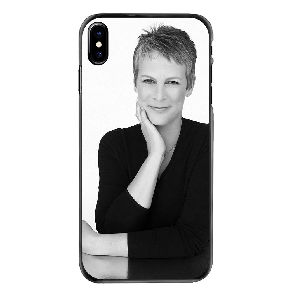 Jamie Lee Curtis American author Plastic Black Cover Case For Samsung Galaxy Note 2 3 4 5 S2 S3 S4 S5 MINI S6 S7 edge S8 S9 Plus image