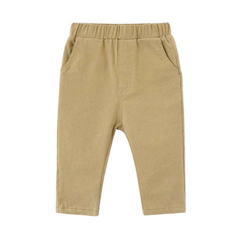VIDMID Baby pants trousers boys cotton washing casual pants Korean children's pants children's spring cotton trousers P896