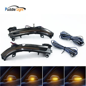 Side Rearview Mirror Indicator Blinker Light Sequential Multifunctional Dynamic Turn Signal For Bmw X1 E84 E90 F20 F22 F10 F01