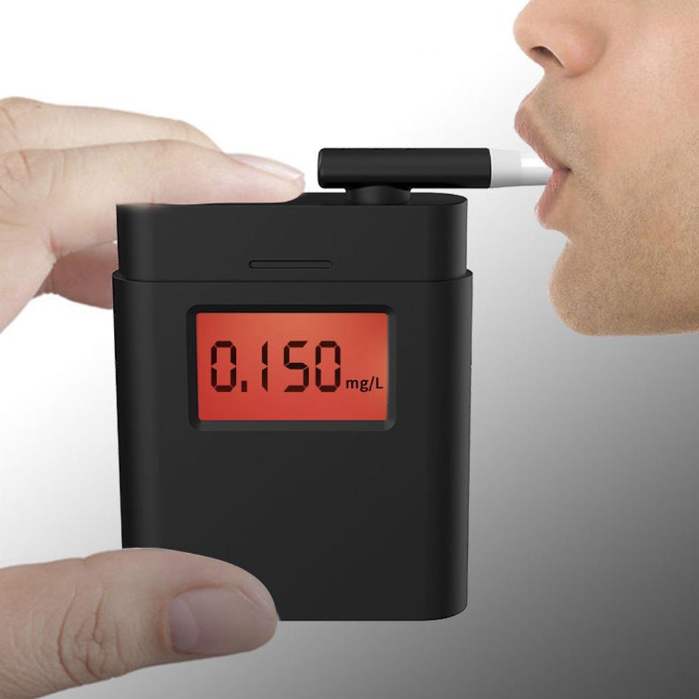 novo tipo testador de alcool wi 5 bocais policia digital testador de alcool analisador respiracao bafometro
