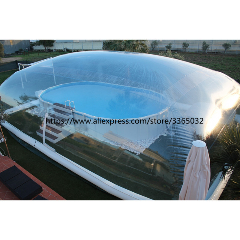 2019 Hot Sale Waterproof Pvc Inflatable Pool Domes For Inground Pools