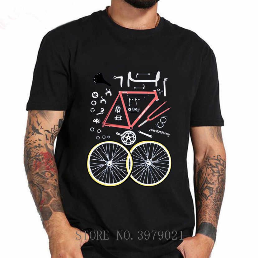 MTB ENDURO BIKER เสื้อ T ชายภูเขา Biker เสื้อยืด Homme จักรยาน BMX TShirt Rider ภูเขา TEE เสื้อ hombre 2018 ใหม่ล่าสุดการออกแบบ