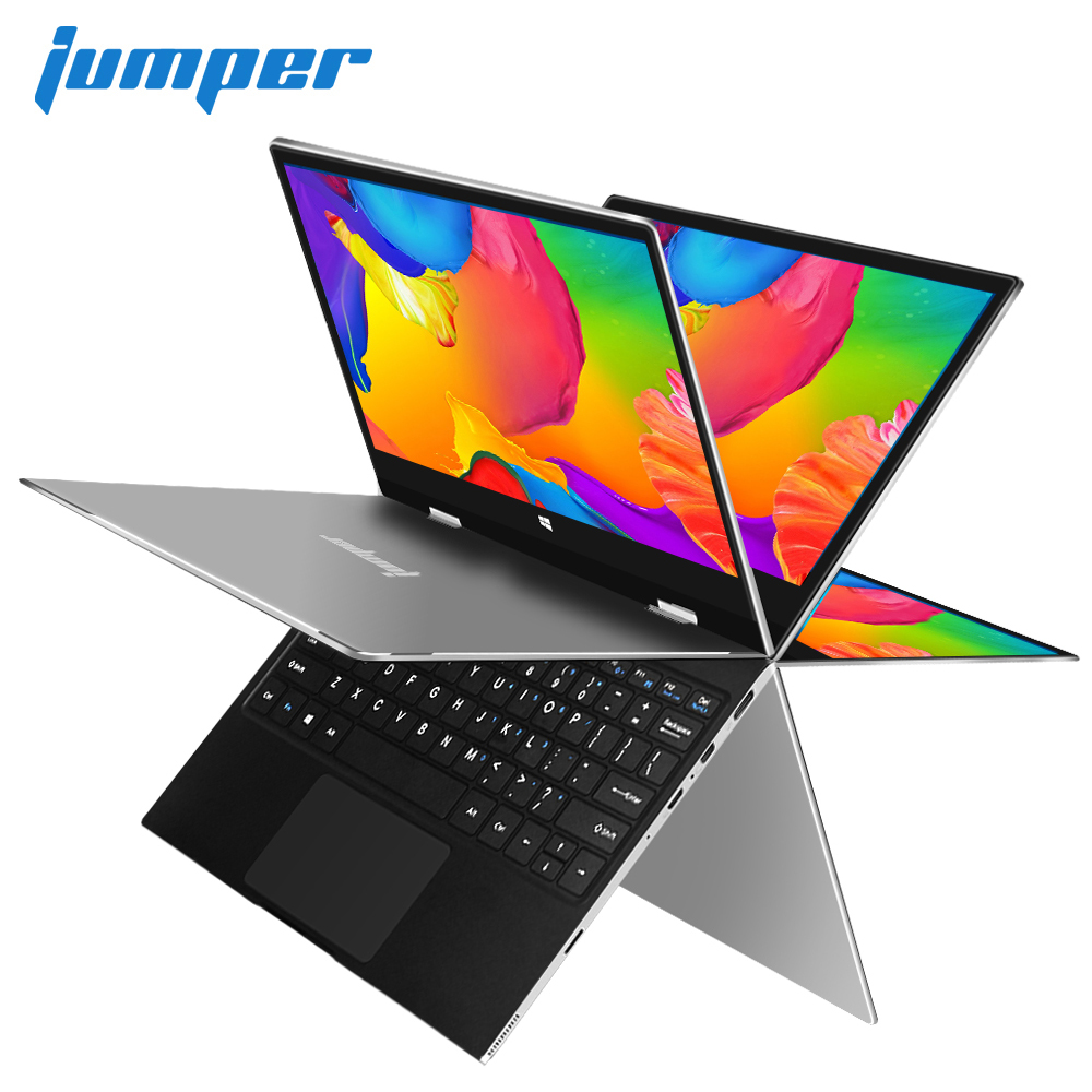 11.6 inch IPS Multi Touch Display <font><b>laptop</b></font> Apollo Lake N3350 notebook Jumper EZbook X1 ultrabook 4GB DDR4 64GB eMMC128GB SSD Metal image