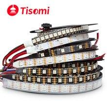 Alto brilho é semelhante ao apa102 inteligente led pixel luz de tira 5 m/lote; dc5v; raspberry pi dmx controle sk9822 tira de luz