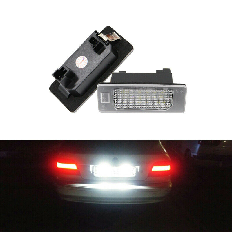 Pair Bright Xenon Whites LED Cars Side Light 8 SMD Bulbs For Renault Clio MK2