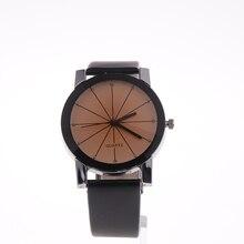 Парные часы модные часы для влюбленных повседневные и кварцевые часы с циферблатом кожаные Наручные часы из нержавеющей стали Прямая поставка