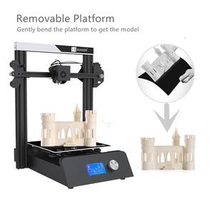 Image 5 - JGMAKER Magie 3D Drucker Aluminium Rahmen DIY KIT Große Druck Größe 220x220x250mm Druck Masken Schnelle verschiffen EU Russland Lager