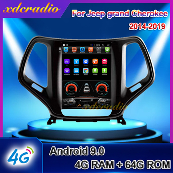 Xdcradio 10.4 Android 9.0 For JEEP Grand Cherokee Car Radio Automotivo Car Multimedia Player Auto GPS Navigation Stereo 2014+ image