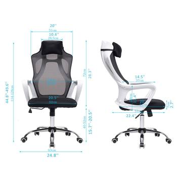 Gaming Office Chairs Ergonomic Mesh Computer Chair High Back Seat Desk Chair Home Office Recliner Gamer Chair Conference Chairs 6