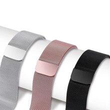 цена на Milanese Loop Bracelet Band strap For Apple Watch Series 4 3 2 1  44mm 42mm 40mm 38mm Stainless Steel Wrist Bands Strap belt