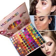 Beleza colorido paleta de sombra pigmento fosco 99 cores sombra de olho brilho highlighter shimmer compõem sombra de olho tslm2