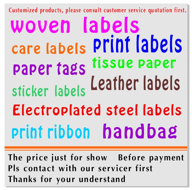 Подгонянная атласная Основная этикетка белая моющаяся имя этикетки одежды ткань маркер тегов набор для Одежда Аксессуары для шитья - Цвет: customization
