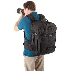Image 5 - حقيبة ظهر Lowepro Pro run450 AW حقيبة كاميرا تصوير مستوحاة من المناطق الحضرية حقيبة ظهر رقمية للحاسوب المحمول SLR 17 بوصة مزودة بغطاء مطر