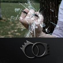 High Quality EDC Outdoor Titanium steel Ring Self Defense