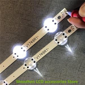 Image 5 - 8 stuks/partij Nieuwe LED strip Voor LG 49UV340C 49UJ6565 49UJ670V 49 V17 ART3 2862 2863 6916L 2862A 6916L 2863A V1749R1 V1749L1 NIEUWE