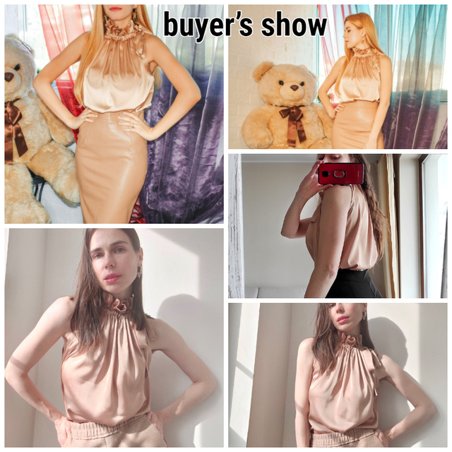 Glamaker Satin Ruffles casual  loose sleeveless sexy top Women elegant office ladies all-match pleated summer top new 2021 6