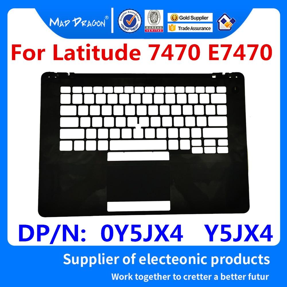 Новый оригинальный чехол для ноутбука Dell Latitude 7470 E7470 C оболочка для клавиатуры Черный US макет AP1DL000550 DP/N: 0Y5JX4 Y5JX4