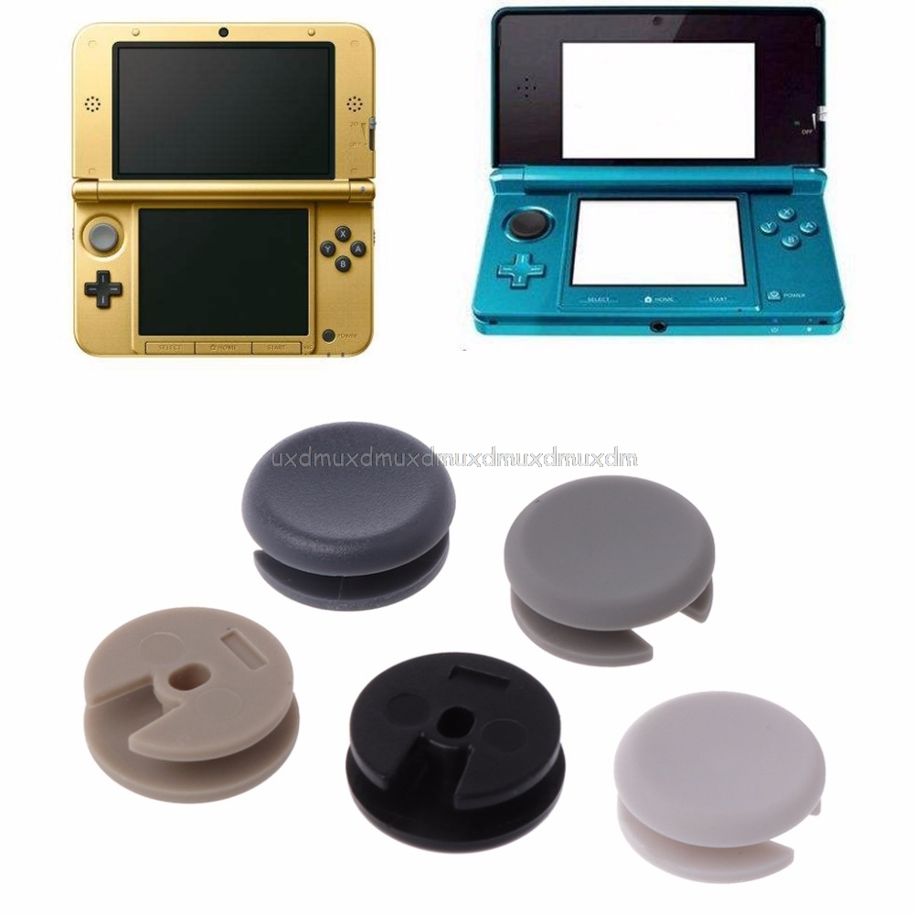 5Pcs/Set Replace Plastic 3D Analog Controller Stick Cap 3D Joystick Cap Cover Button For New 3DS 3DSLL 3DS XL Au13 19 Droship