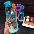 500 мл с украшением в виде кристаллов, бутылка для воды творческие спортивные питьевой кемпинг езда на велосипеде, для путешествий, пластиков...