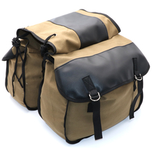 Bag-Pouch Saddlebags Motorcycle Luggage-Box Back-Pack Side-Tools Kawasaki Touring Harley