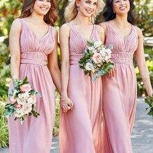 Formal-Dress Plus-Size Sleeveless New V-Neck Custom