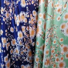 Tissue craft Soft Satin fabric Flower DIY Lining Material craft flower glossy Polyester Charmeuse Fabric
