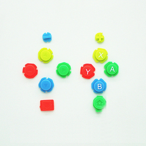 Image 1 - Kleurrijke Abxy Richtingen Keys Knoppen Joystick Voor Nintendo Switch Ns Nx Controller Joy Con Links Rechts Controller
