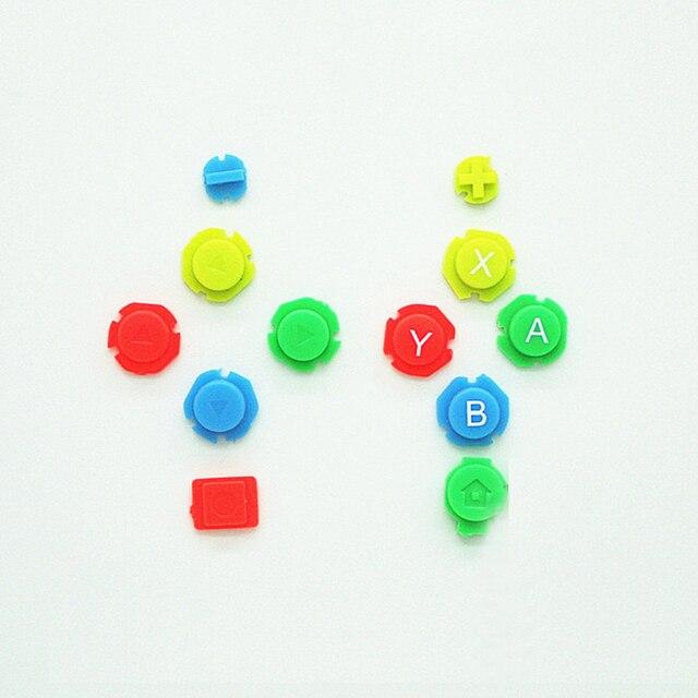 Kleurrijke Abxy Richtingen Keys Knoppen Joystick Voor Nintendo Switch Ns Nx Controller Joy Con Links Rechts Controller