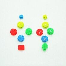 Renkli ABXY yön tuşları düğmeler Joystick Nintendo anahtarı NS NX denetleyici Joy con sol sağ denetleyici