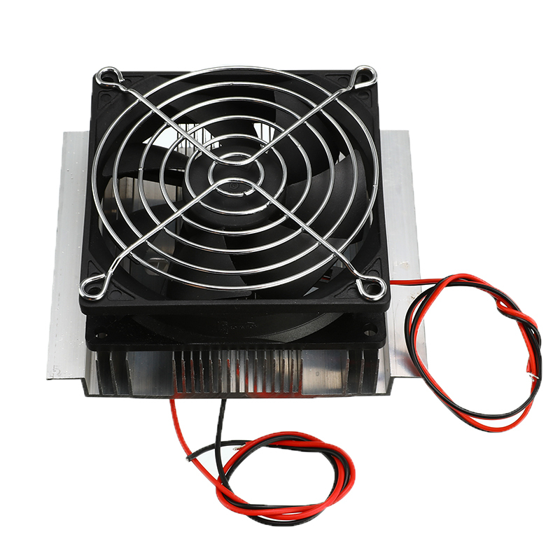 1PC DC 12V Thermoelectric Refrigeration Cooler Semiconductor Air Conditioner Cooling System DIY Kit 40x40x2.6mm