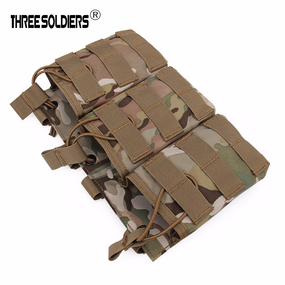 G36 New Style Tactical Triple Accessory Kit Multi-functional Army Fans Sundry Bag Molle Wide Wallet CS Equipment
