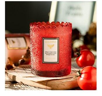 Lavender Amber Scented Jar Candles  4