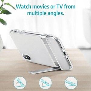 Image 3 - ESR Fall für iPhone X XR XS Max 11 11Pro Max SE 2020 8 7 Plus Metall Kick Stand Fall weiche TPU Transparente Abdeckung für iPhone