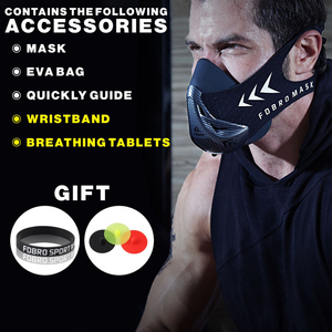 Image 4 - FDBRO Sports Running Mask Training Fitness Gym Workout Cycling Elevation High Altitude Training Conditioning Sport Masks 3.0