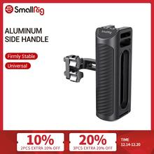 """SmallRig Aluminum Universal Side Handle For Camera Cage Featuring Two 1/4"""" Thread Holes With 18mm Distance On The Side 2425"""