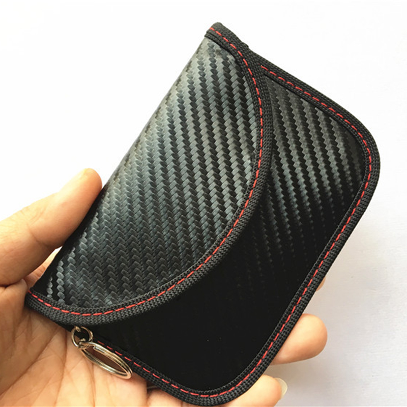 Car Auto Key Anti-Theft RFID Signal Blocking Guard Case Fob Pouch Accessories title=