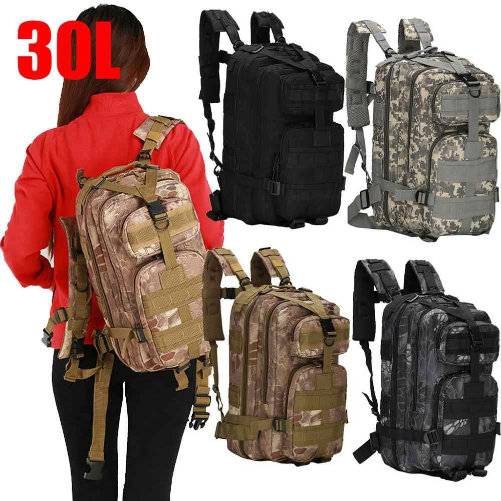 Anti-theft Bag 30L Waterproof Military Tactical Pack Sports Backpack Camping Hiking  Travel Bag 30L Outdoor camping Shoulder Bag