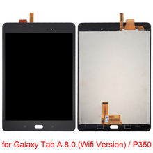 цена на For LCD Screen and Digitizer Full Assembly for Galaxy Tab A 8.0 / T350  Repair, replacement, accessories