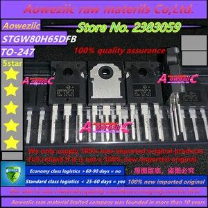 Image 2 - Aoweziic 2019 + 5 PCS 100% neue importiert original STGW80H65DFB GW80H65DFB ZU 247 IGBT isolierte gate bipolar transistor 650V 85A