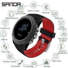 SANDA, умные часы для женщин и мужчин, умные часы для Android, IOS, электроника, умные часы, фитнес-трекер, силиконовый ремешок, цифровые часы, часы