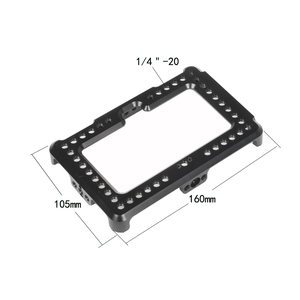 """Image 5 - Kayulin On camera Monitor Cage Bracket For FeelWorld F6 Plus 5.5"""" Display New Arrival"""