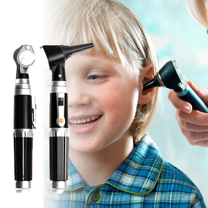 Image 2 - Professional Otoscopio Diagnostic Kit Medical Home Doctor ENT Ear Care Endoscope LED Portable Otoscope Ear Cleaner with 8 Tips