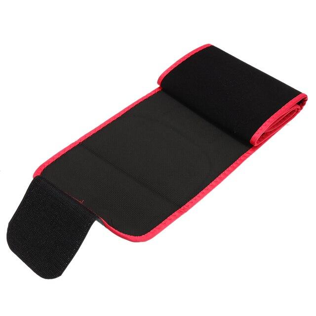 Neoprene Lumbar Waist Trimmer Belt Weight Loss Sweat Band Lumbar Brace Support Gym Accessories Weightlifting Training Fitness 1