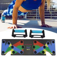 Push Up Handle Board Gym Home Body Building Training Fitness Exercise Tool Set
