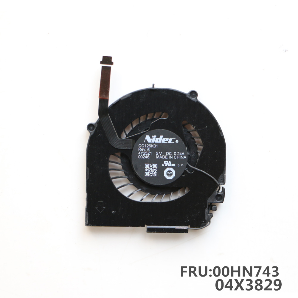 Laptop Replacement Cooler Fan For Lenovo THINKPAD X1 Carbon CPU Cooling Fan 2014 Series 2015 Series 00HN743 04X3829 image