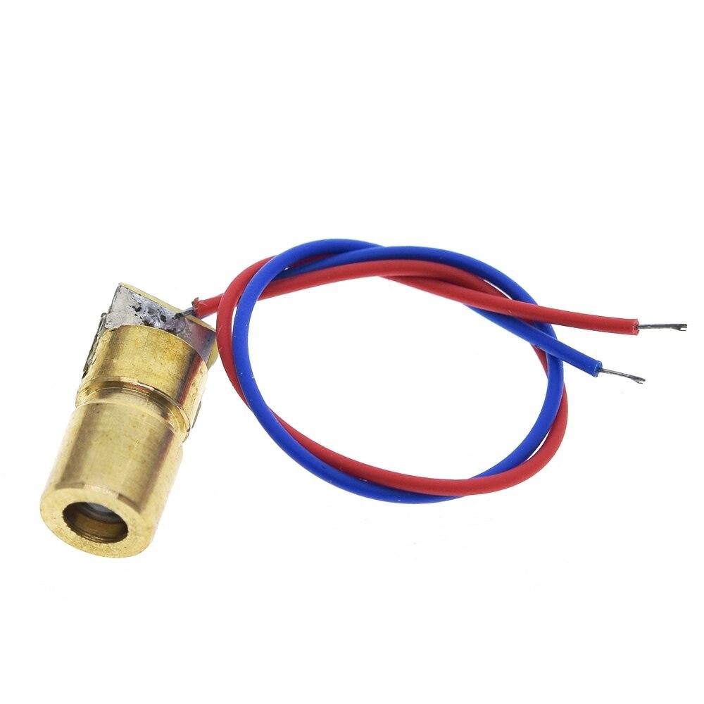 ShengYang 1PCS 5V 650nm 5mW Adjustable Laser Diode With Adjustable Sleeve 2