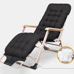 Oddychająca rozkładane krzesło łóżko składane łóżeczko Relax pufa relaksacyjna z wyjmowanym wacik kosmetyczny do biura Nap  Camping  wędkarstwo