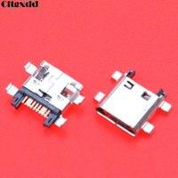 Cltgxdd 1000 pcs 마이크로 usb 잭 소켓 커넥터 삼성 갤럭시 j5 프라임 on5 g5700 j7 프라임 on7 g6100 g530 g532 충전 포트