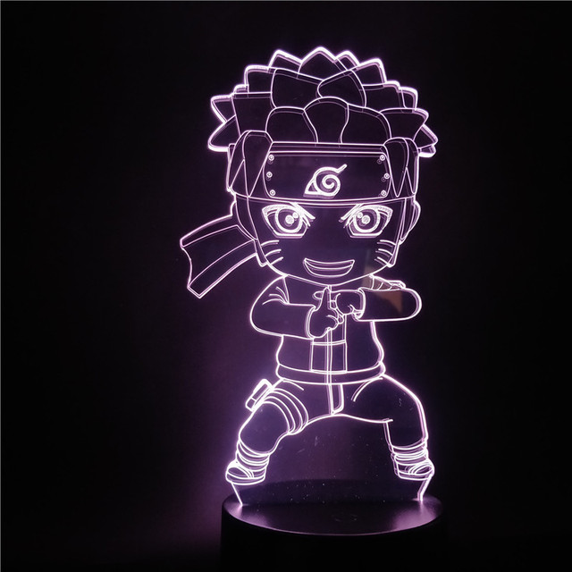 3D YOUNG NARUTO LED LAMP